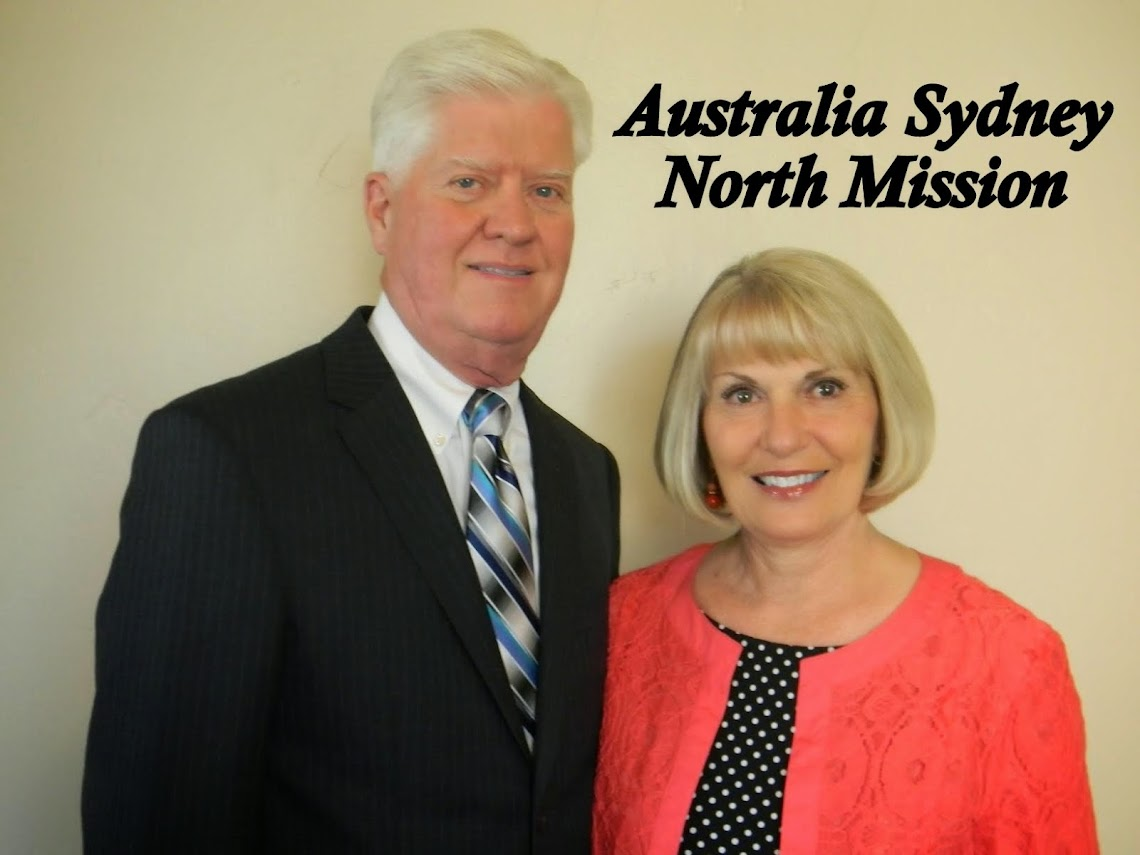 Adventures Down Under -- Australia Sydney North Mission