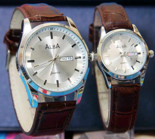 jual jam tangan alba couple murah harga grosir