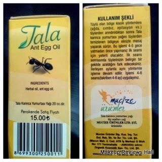 Ant Egg Oil Price & Ingrediensts