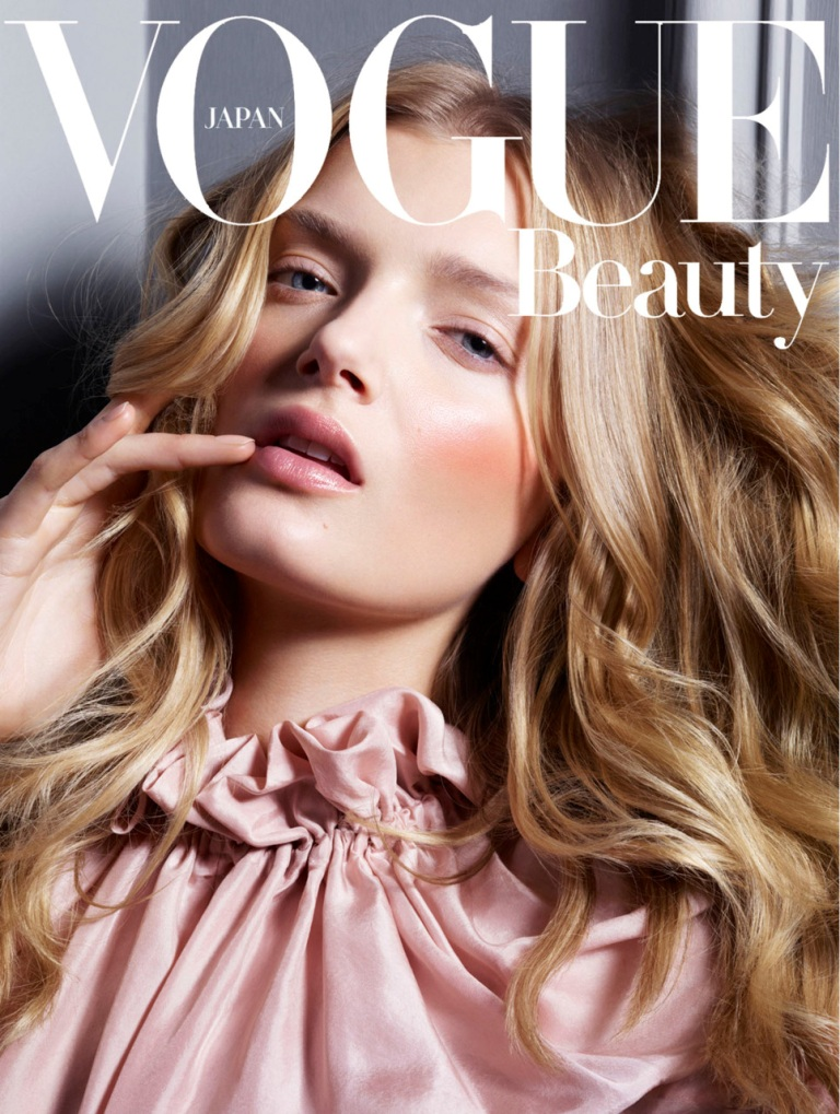 Lily Donaldson for Vogue Japan August 2011
