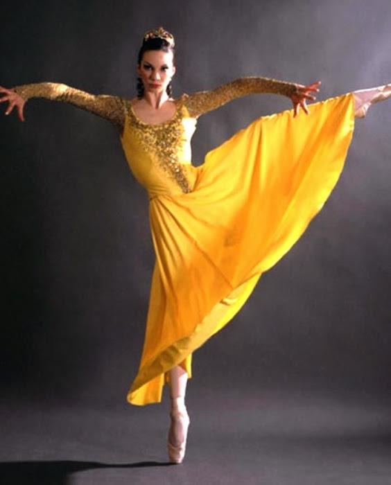María Alexandrova. Bailarina.
