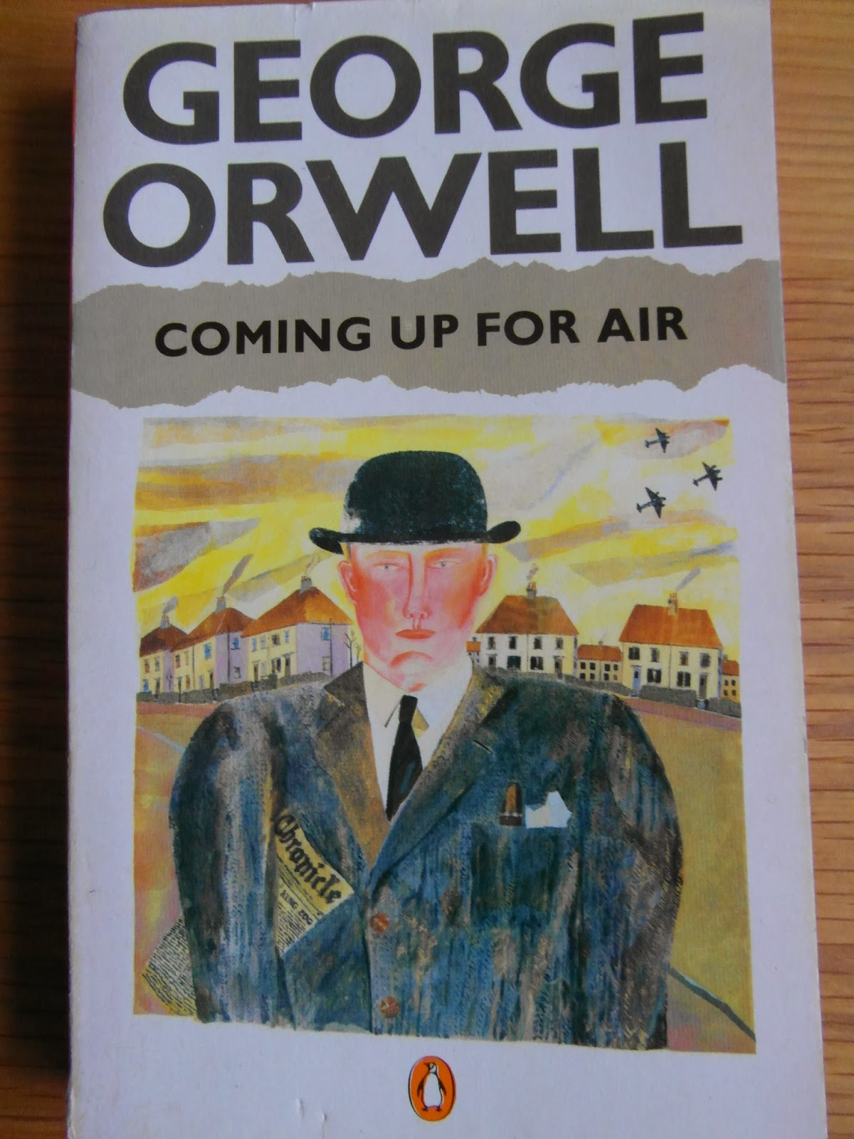 george orwells coming up for air essay Coming up for air it all began the day when he got his new false teeth george bowling, a suburban insurance salesman, escapes london and an insidious sense of impending war to return to lower binfield, his childhood home near the thames.