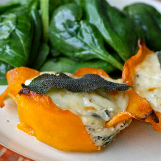 Butternut Squash Lasagna Cups