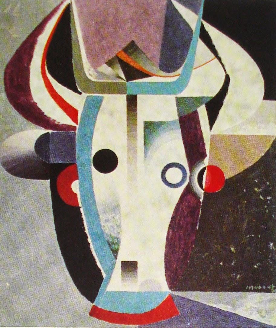 Abstraktion - Öl 1970
