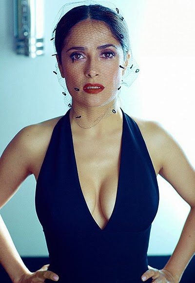 Salma Hayek in a new photo shoot-