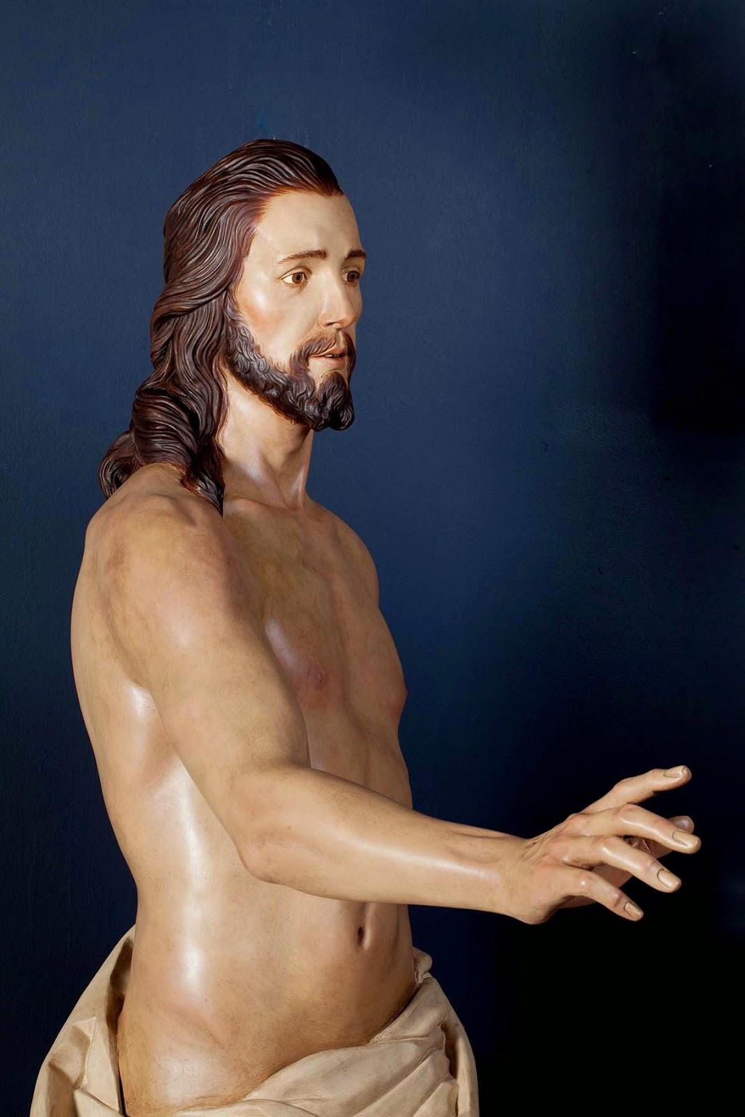 Resucitado Semana Santa Jumilla escultura 1