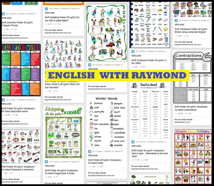EwR Posters for English Language Practice
