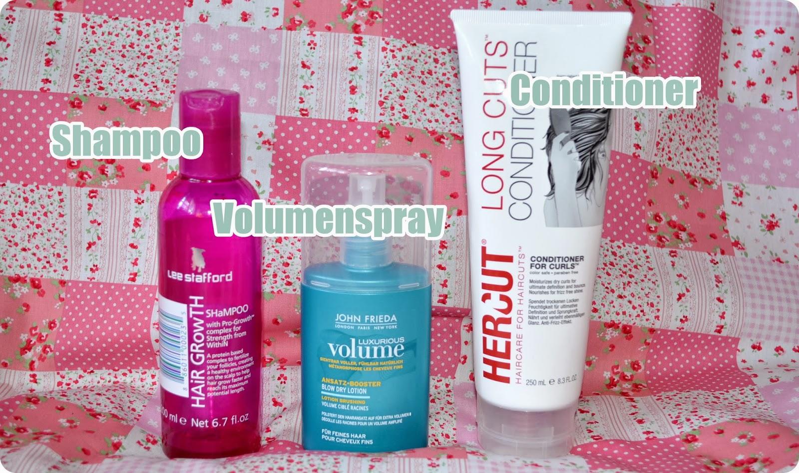 Aufgebraucht im November & Dezember  2013 - Haarpflege