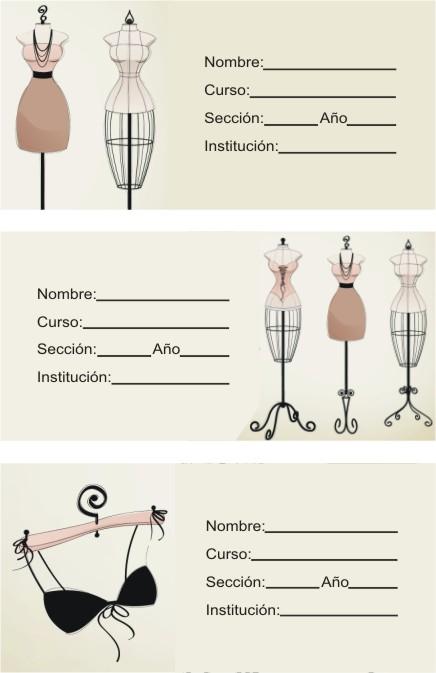 maniquies de costura vintage