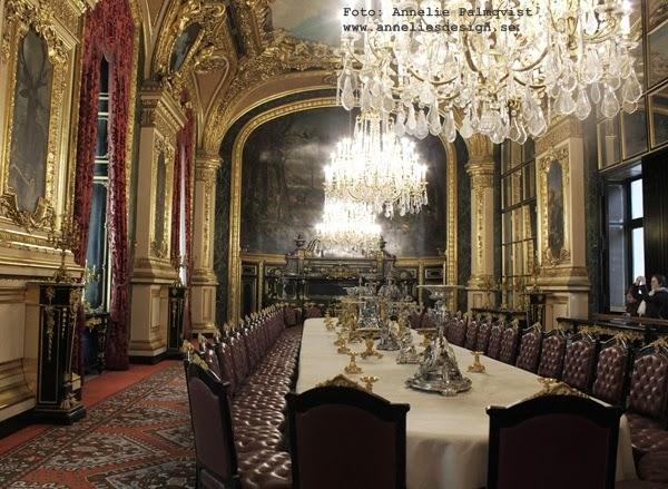 napoleons lägenhet, Louvre, paris, frankrike,