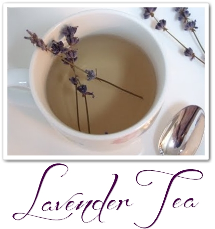 lavendel, lavendel te