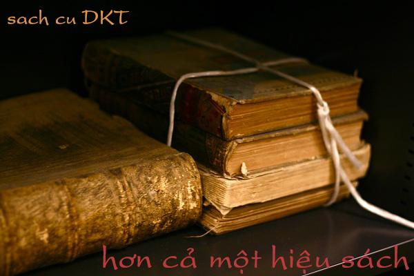 Sách cũ DKT: Nơi bán sách cũ tại Hà Nội giá rẻ
