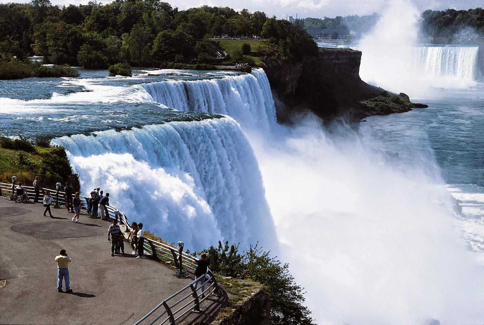 Gambar keajaiban dunia air terjun niagara