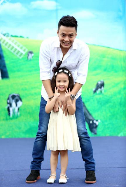 Hồng Đăng cùng cô con gái
