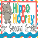 Hippo Hooray for Second Grade!
