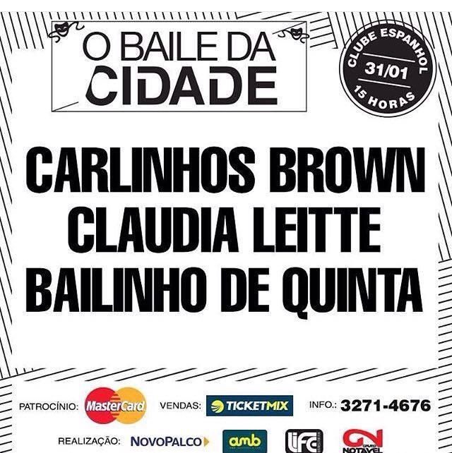O BAILE DA CIDADE