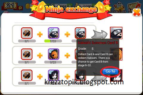 Cara mendapatkan ninja s ninja heroes