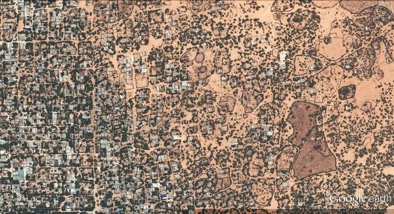 aerial photography - Mogadishu, Somalia