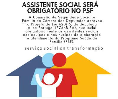 assistente%2Bsocial%2Bno%2Bpsf Assistente Social será obrigatório no PSF