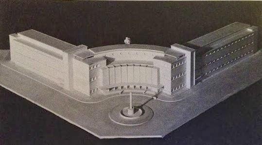 Ecole Beaux Arts Lille 1938 (Projet)