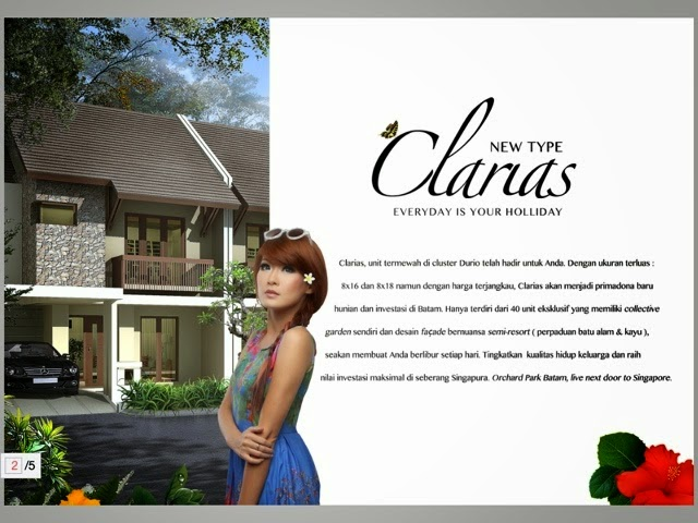 New House Orchard Park Batam Clarias