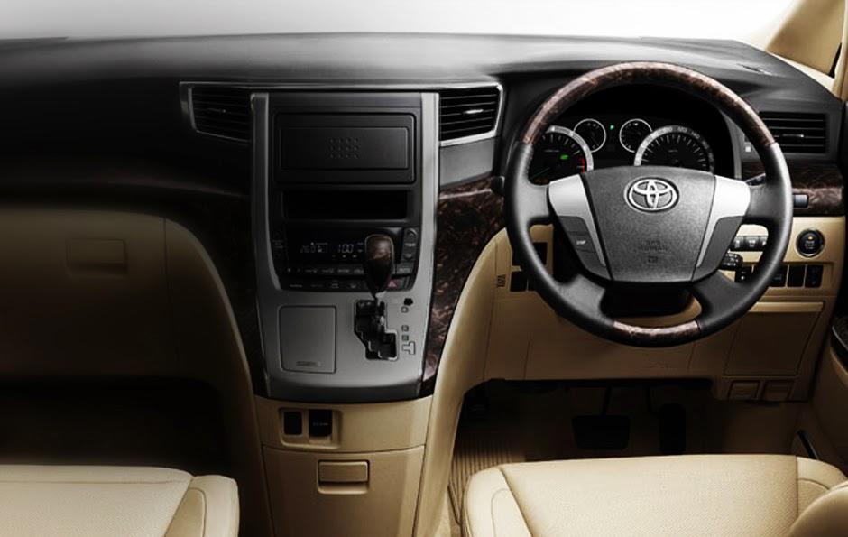 Interior Toyota Alphard
