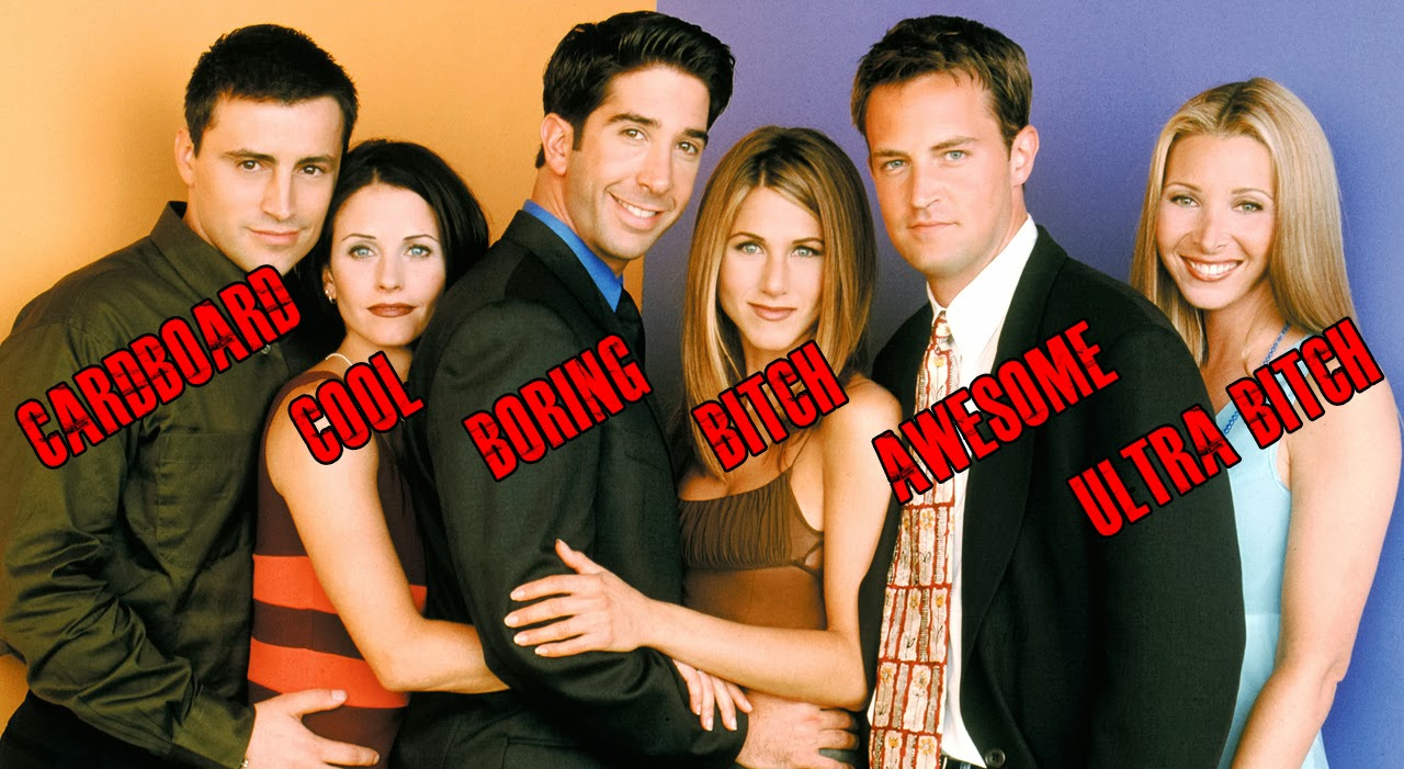 essay on tv show friends