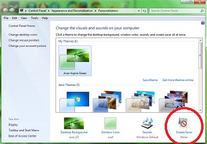 Set Video as Screensaver on Windows 7