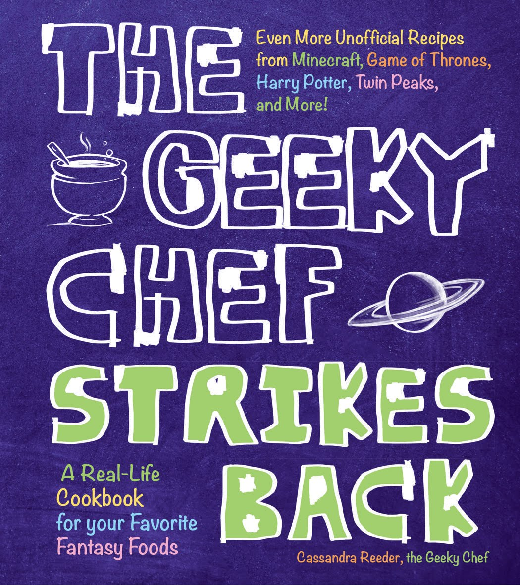 The geeky chef get the 2nd cookbook forumfinder
