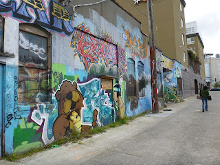 Feathered Friends – Alley Graffiti