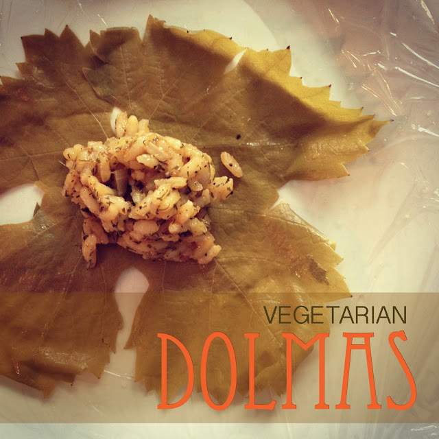 Vegetarian Dolmas (Stuffed Grape Leaves) | The Superettes
