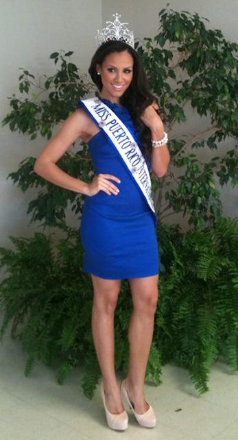 Miss International Puerto Rico 2013 Ashley Beth Perez Calderon