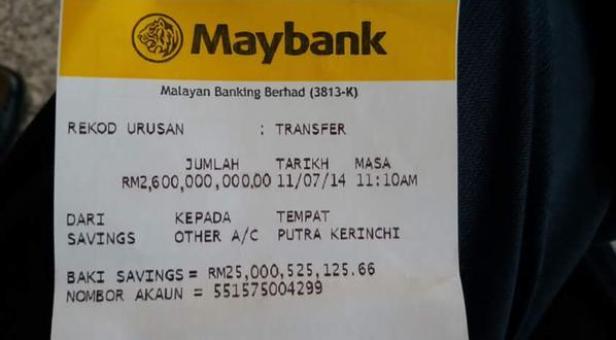 Transaksi 1mdb