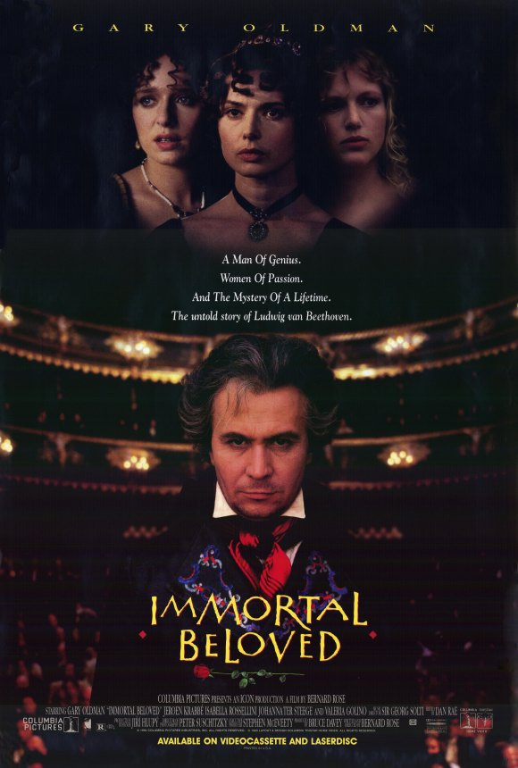 In the DVD commentary track to Immortal Beloved director Bernard Rose  suggested the conundrum of the immortal beloved was a natural locus around  which to ...