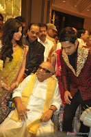 Celebraties at Actor Bharat n Jessy Wedding Reception Photos+%252841%2529 Actor Bharath n Jessy Wedding Photos