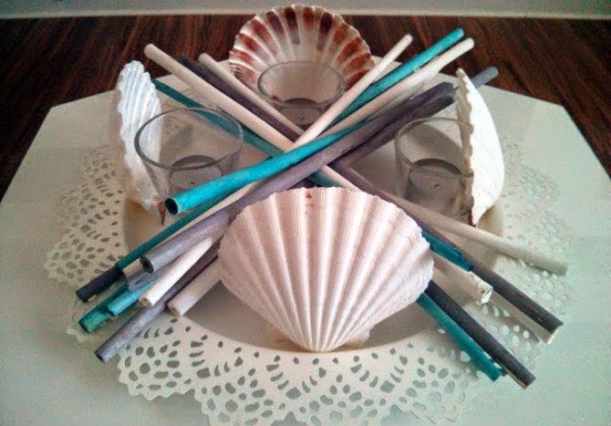 diy shell illuminant for summer