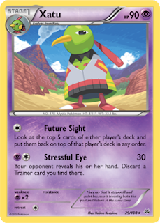 Xatu Roaring Skies Pokemon Card