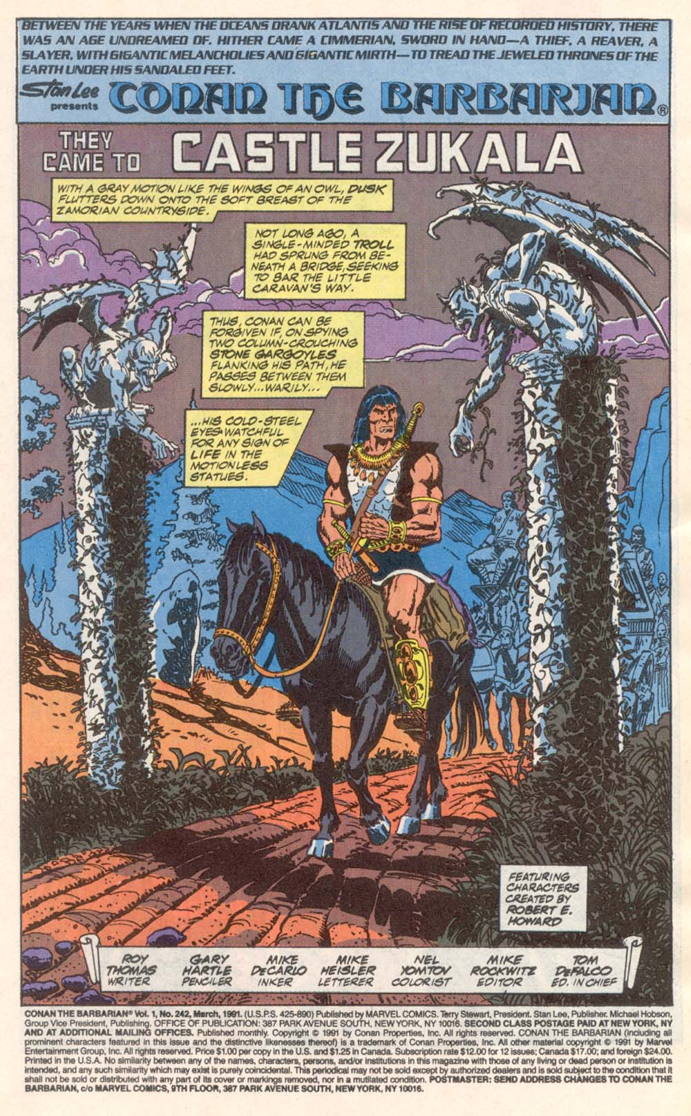 Conan the Barbarian (1970) Issue #242 #254 - English 2