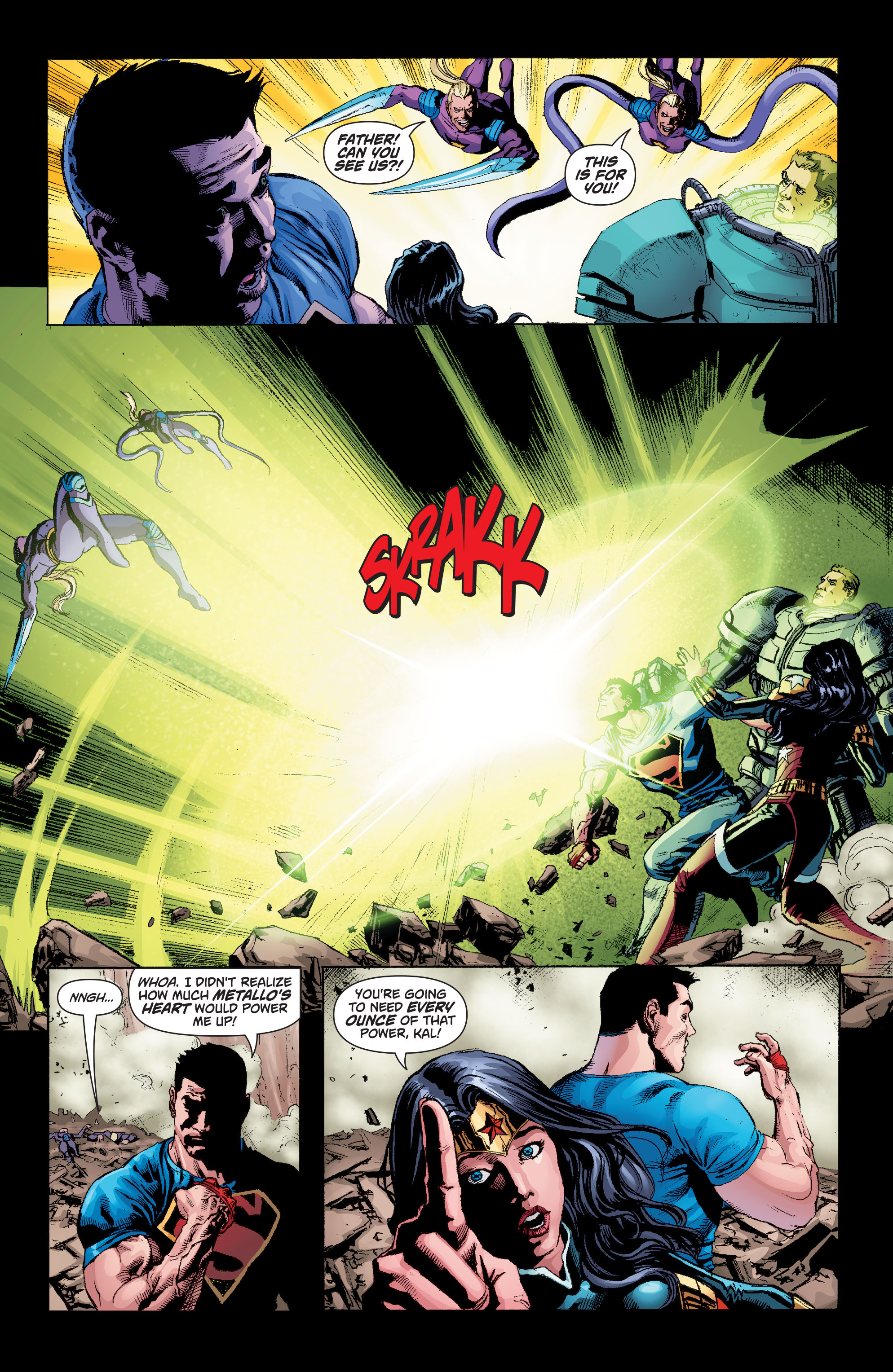 Read online Superman (2011) comic -  Issue #49 - 14