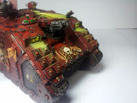 LAND RAIDER BLOOD ANGELS - WARHAMMER 40000 14.
