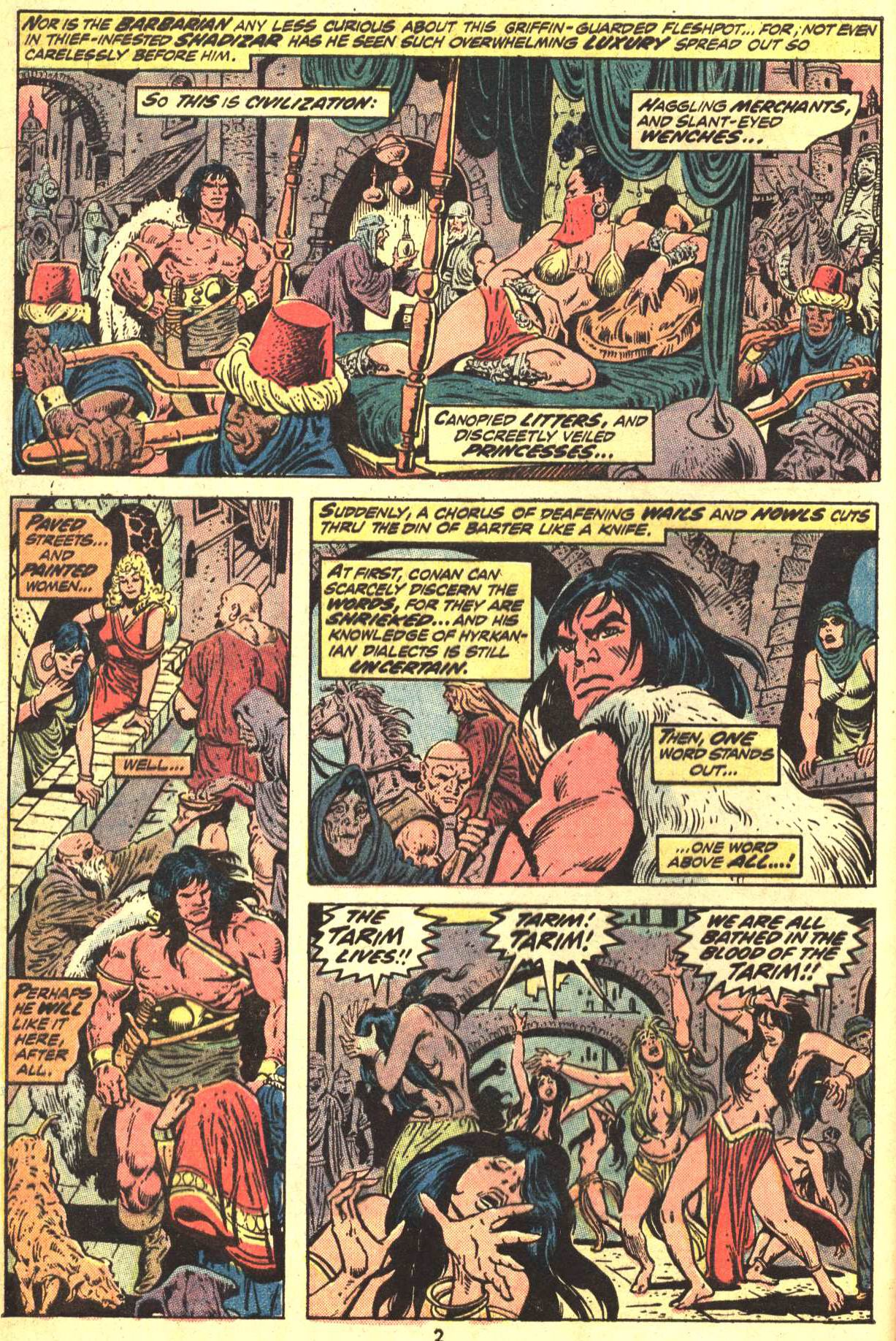 Conan the Barbarian (1970) Issue #29 #41 - English 3