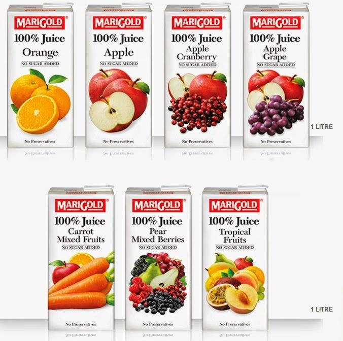 Marigold UHT 100% Juice