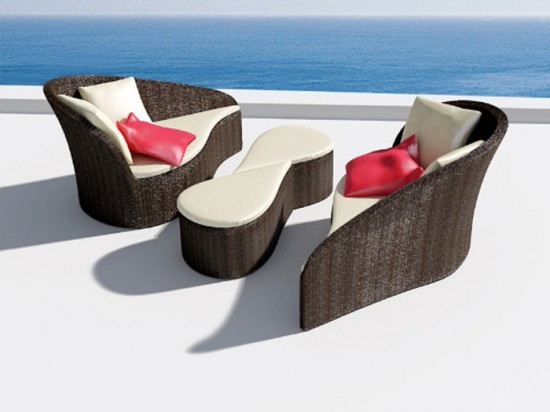 Unique outdoor furniture designs home design idea for Cool outdoor furniture ideas