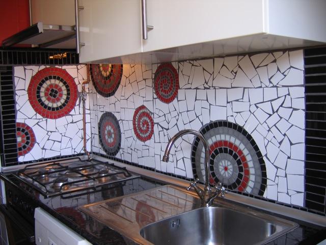 Mosaico y arte mural de mosaico para la cocina - Cocinas con mosaico ...