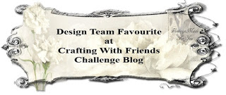 05/2017 Design Team Favourite at Crafting With Friends