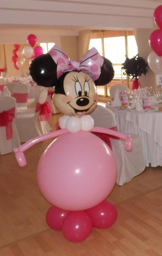 Figura de Globos Minnie Mouse