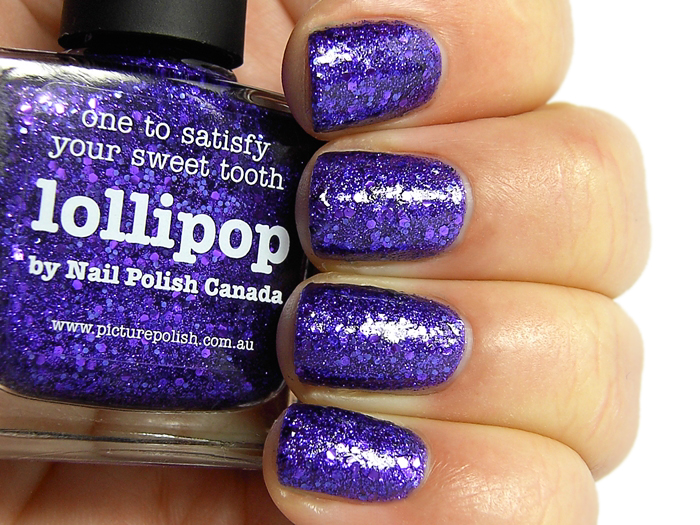 piCture pOlish Lollipop