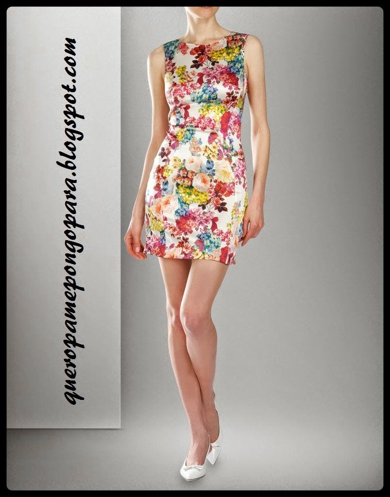 como vernos mejor con un vestido de flores