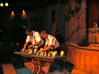 German men playing bells