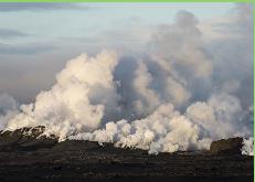 Vuelven a dictar alerta roja en Islandia por erupción de volcán Bardarbunga